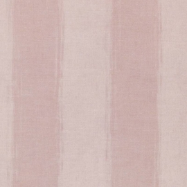 Rivièra Maison strepen behang 18362 Anvers Linen Stripe roze
