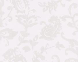 Schöner Wohnen bloemen behangpapier 2688-15 grijs