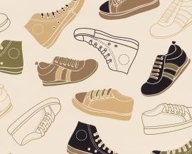 Behangpapier schoenen 93631-1