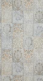 tegel behang Arabica verouderd retro 218014