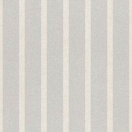 Streep Behang grijs creme 467048
