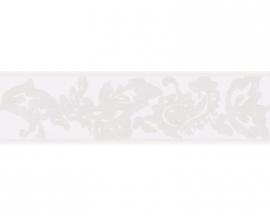 Schöner Wohnen 2687-16 bloemen behangrandpapier grijs