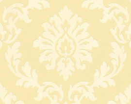 Barok behangpapıer  geel 30424-4