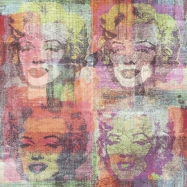 Marilyn Monroe Behang WU17634