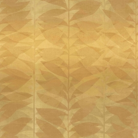 Bloemen Behang bladeren BA2104 bruin