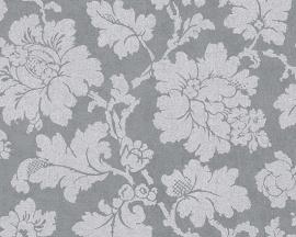 Behangpapier Barok Grijs 30519-5