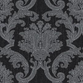 Behangpapier Barok Zwart Zilver GT28817