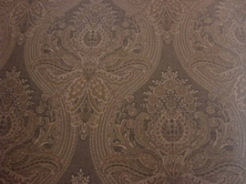 bruin kasmir barok vlies behang 25