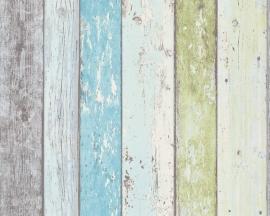 Surfing & Sailing 8550-77 Sloophout behangpapier blauw