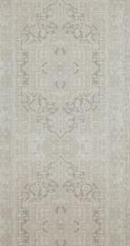 Perzische styl barok grijs behang retro 98279