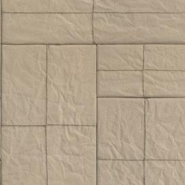 Beige Blokken Behang 524321