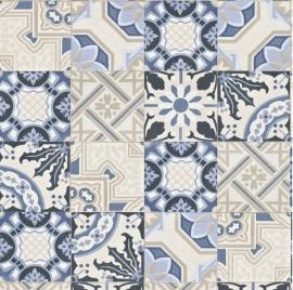 Mediterraanse Tegels 526325 blauw