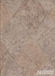 beton ruitjes vinyl behangpapier 5815268 OUTLET