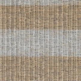 Rivièra Maison behang 18321 Rustic Rattan Stripe