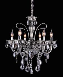 Kroonluchter hanglamp 720-6 CR Smoky black