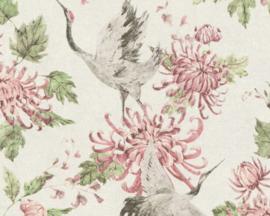 Asien fusion behang chinees japans oosters vogel 37464-2