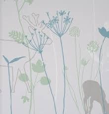 Lef bloemen behang 48922 groen