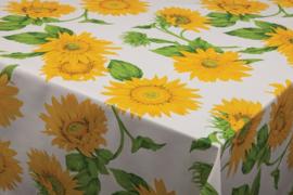 zonnebloemen tafelzeil  tafelkleed 150-144