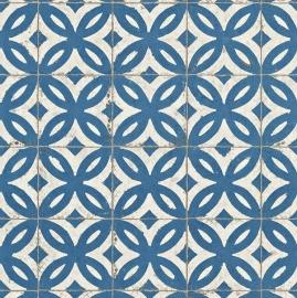 Antieke Vloertegels Blauw 524703