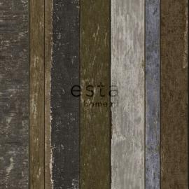 Vintage Rules! behang 138254 sloophout