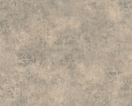 Behangpapier Uni Bruin  95406-1