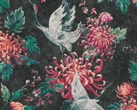 Asien fusion behang chinees japans oosters vogel 37464-3