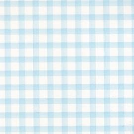 Blauw ruiten behangpapier OZ 7600
