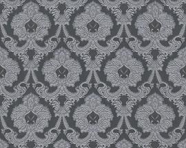 Barok behangpapier grijs 76407-2