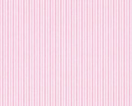 roze streepjes behang 35565-1