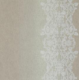 Vintage Behang Taupe 49803
