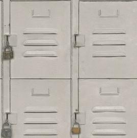 Metalen kasten Behang 524215