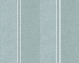 Behangpapier Streep Groen 30520-4