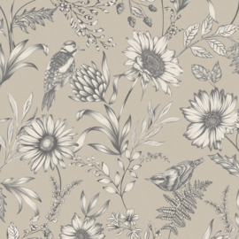 Arthouse Bloom behang Botanical Songbird 676000
