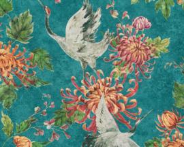 Asien fusion behang chinees japans oosters vogel 37464-1