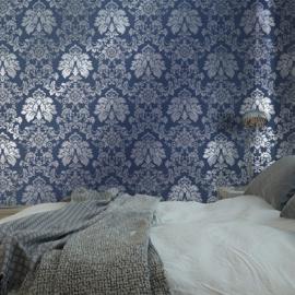 blauw barok behang xxx12
