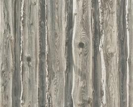Behangpapier Hout  Bruin 95837-2