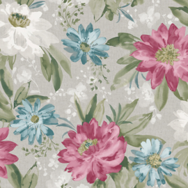 Arthouse Bloom behang Painted Dahlia 676107