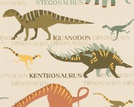 Behangpapier Dinosaurussen 93633-1