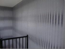 grijs zilver streepjes glitter behang 41
