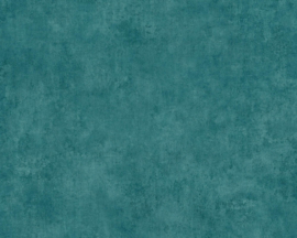tropical floral behangpapier blauw 37370-9
