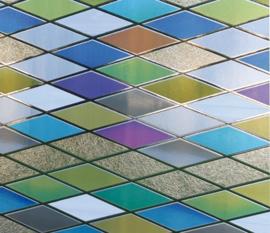 statische raamfolie glas in lood effect xx924