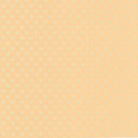 Marburg vliesbehang zalm metallic hartjes 54155