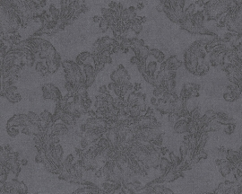 Behangpapier Barok Zwart Grijs 30518-2