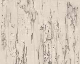 Behangpapier Sloophout Creme 95402-1