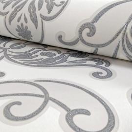 Damask behang barok tapete glitter 319637