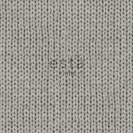 Denim & Co. knitting grey behang 137721