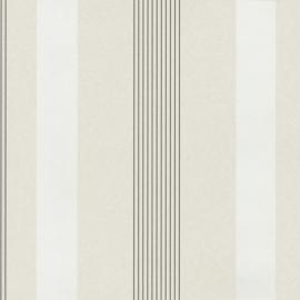 Behangpapier Streep Creme 13181-10