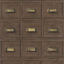 Antieke kastjes Bruin 524024