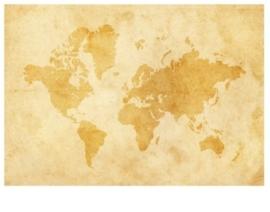 Fotobehang Vintage Worldmap 92