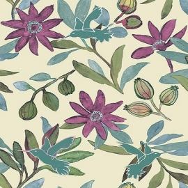Bloemen Vogels Behang JW3738